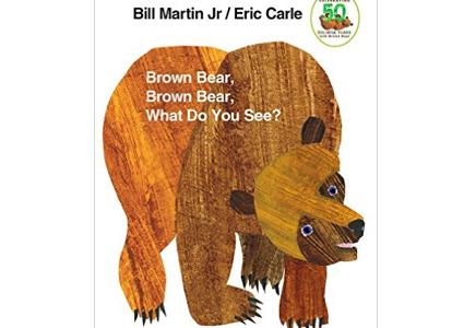 英語の絵本紹介 : Brown Bear, Brown Bear, What Do You See? |雨ニモマケズ Rain Won't