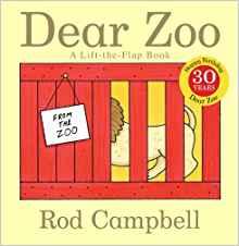 英語絵本の紹介 I Am a Bunny|Dear Zoo